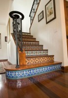 Painted staircase ideas which make your stairs look new 15