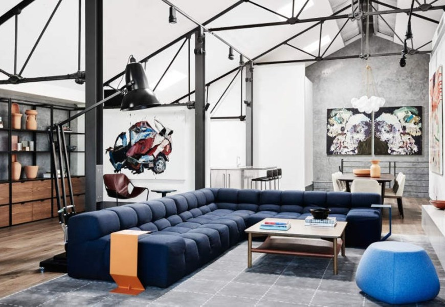 Perfect industrial design interior examples 01
