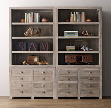 Pieces to create a stylish bookcase instantly 08