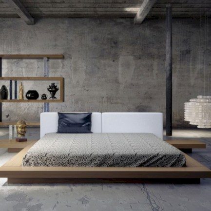 Raised platform bed to define your sleep space easily 06