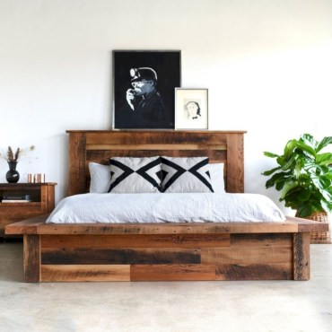 Raised platform bed to define your sleep space easily 09