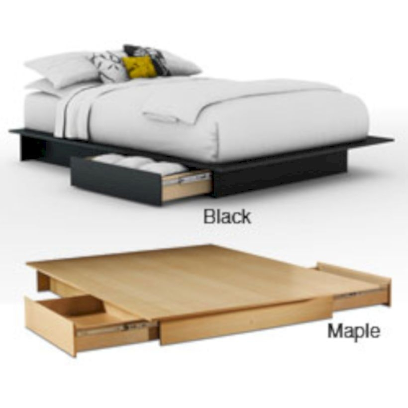Raised platform bed to define your sleep space easily 10