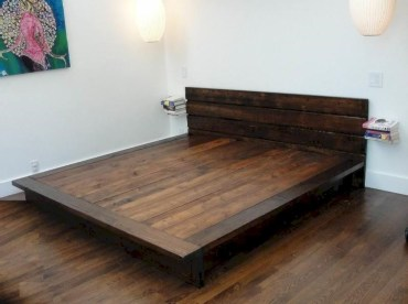 Raised platform bed to define your sleep space easily 13