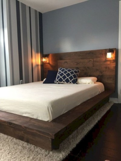 Raised platform bed to define your sleep space easily 27