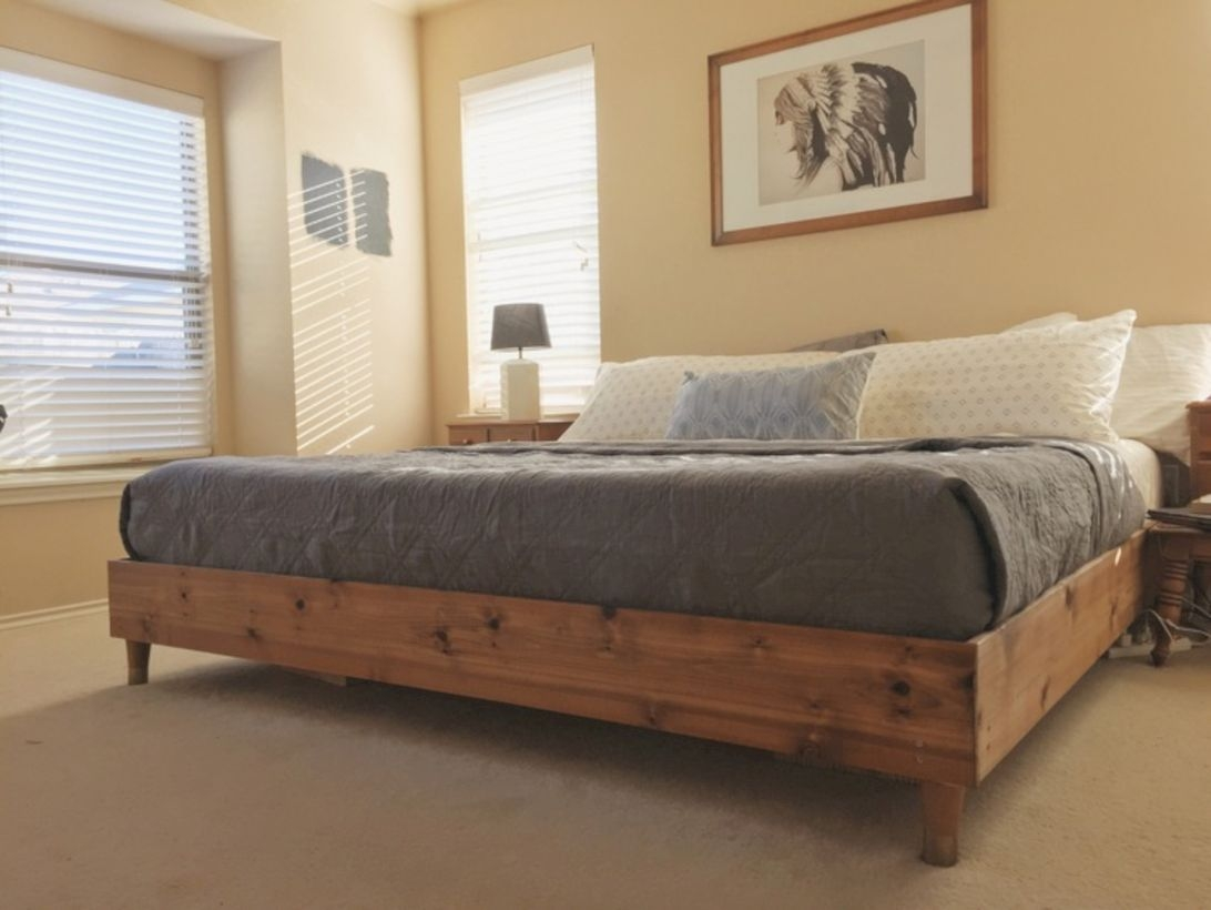 Raised platform bed to define your sleep space easily 28
