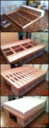 Raised platform bed to define your sleep space easily 32