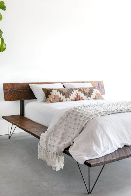Raised platform bed to define your sleep space easily 37