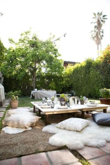 Shabby chic and bohemian garden ideas 08
