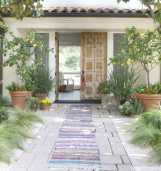 Shabby chic and bohemian garden ideas 09