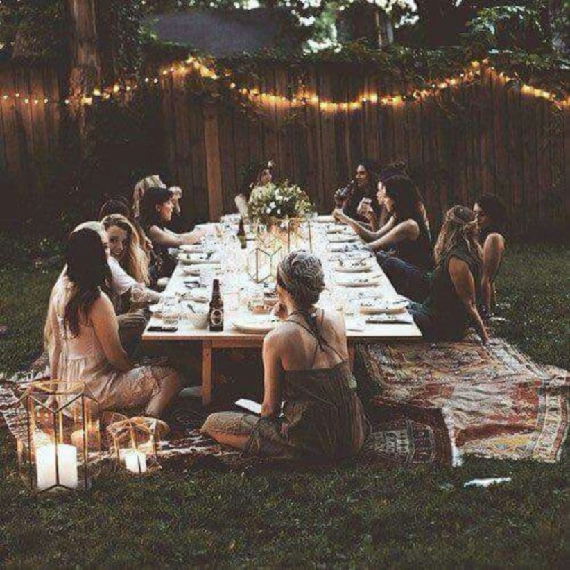 Shabby chic and bohemian garden ideas 18