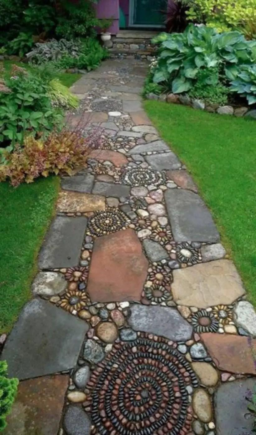 Shabby chic and bohemian garden ideas 33