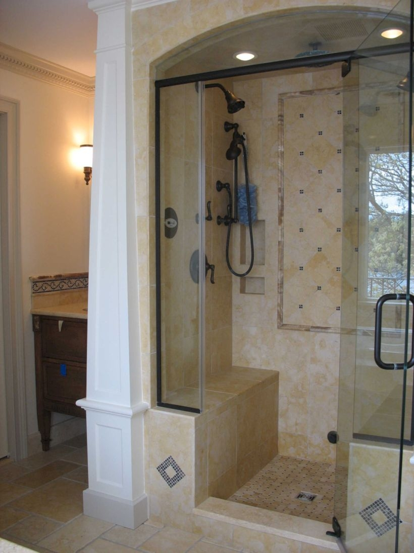Stand up shower design ideas to copy right now 01
