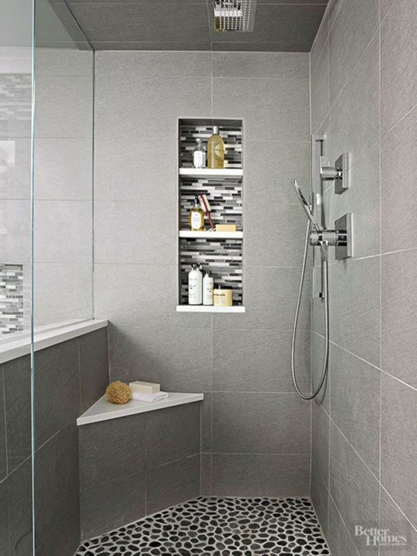 Stand up shower design ideas to copy right now 05