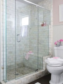 Stand up shower design ideas to copy right now 19