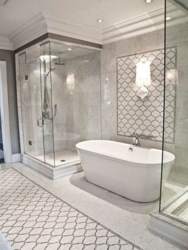 Stand up shower design ideas to copy right now 37