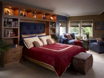 Stunning bookshelves ideas for bedroom decoration 01
