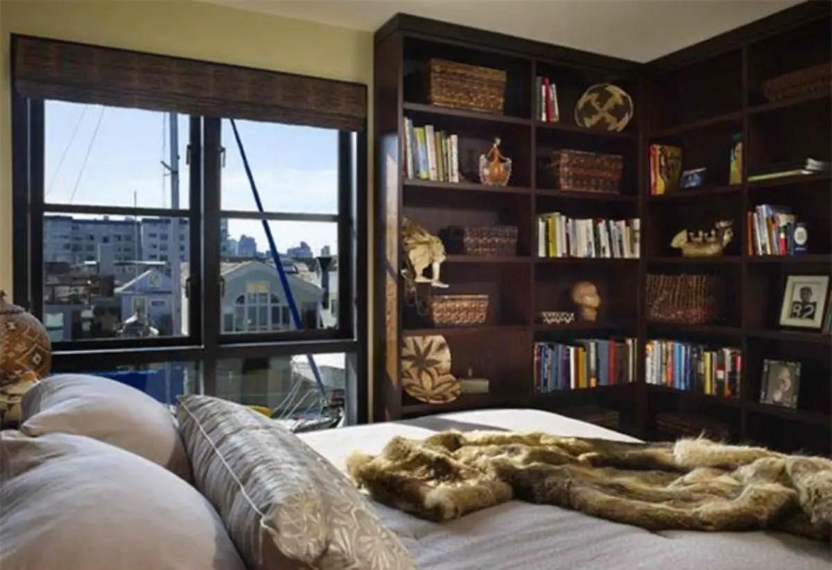 Stunning bookshelves ideas for bedroom decoration 10