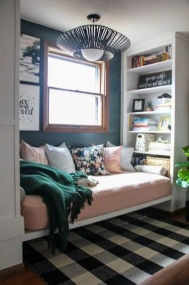 Stunning bookshelves ideas for bedroom decoration 13