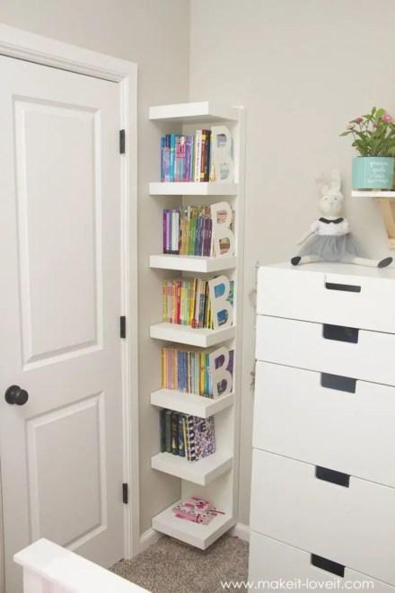 Stunning bookshelves ideas for bedroom decoration 22