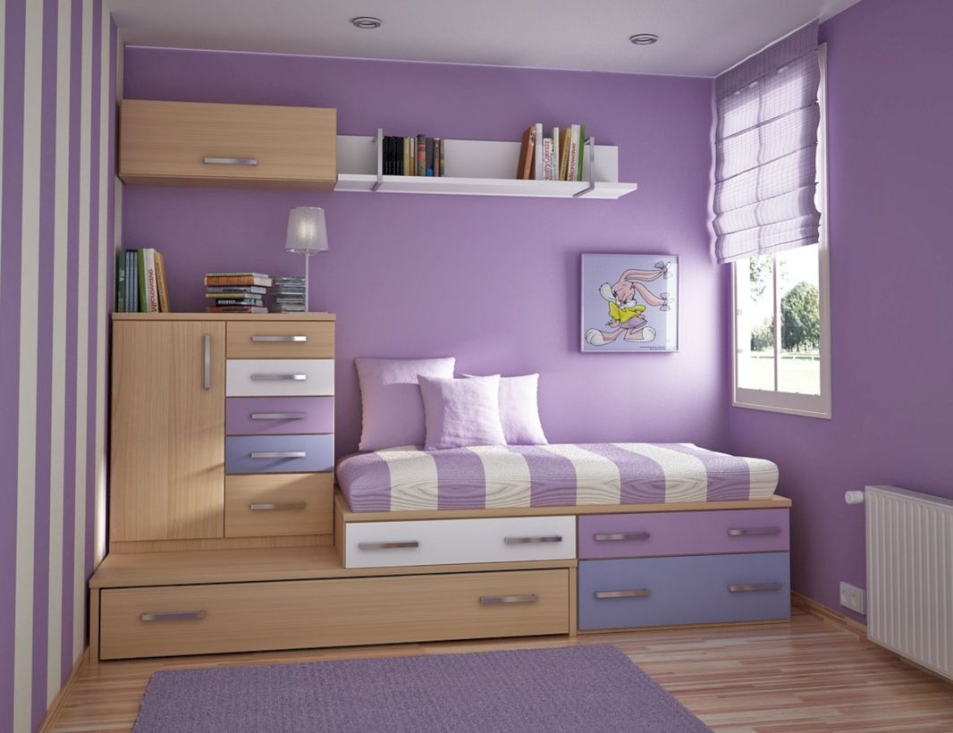 Stunning ideas for small rooms teenage girl bedroom 03