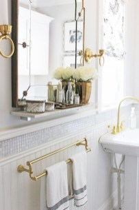 Stunning mosaic tiled wall for your bathroom 10