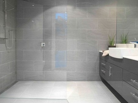 Stunning mosaic tiled wall for your bathroom 18