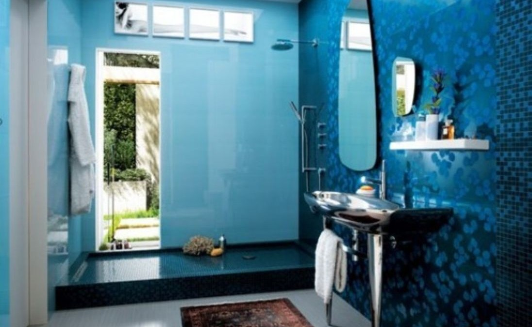 36 Stunning Mosaic Tiled Wall for Your Bathroom