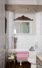 Stunning wood accents to refresh your bathroom 32