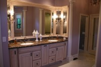 Stunning wood accents to refresh your bathroom 35