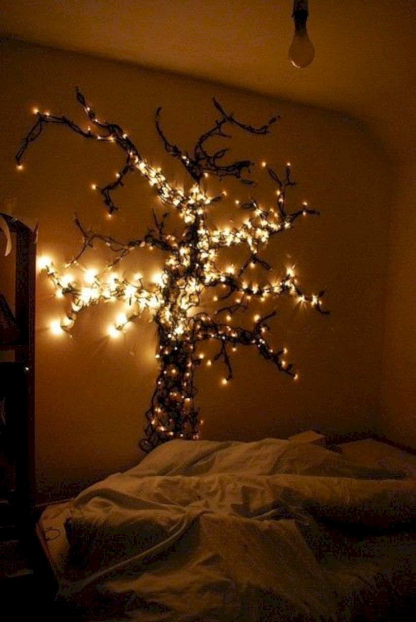 Twinkly ways to light up your home with christmas fairy light 18