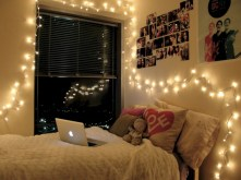 Twinkly ways to light up your home with christmas fairy light 29