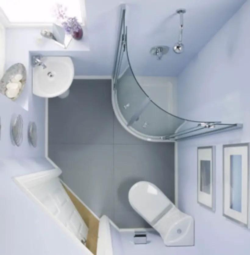 Very small bathroom design on a budget 03