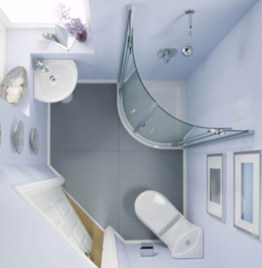 Very small bathroom design on a budget 03