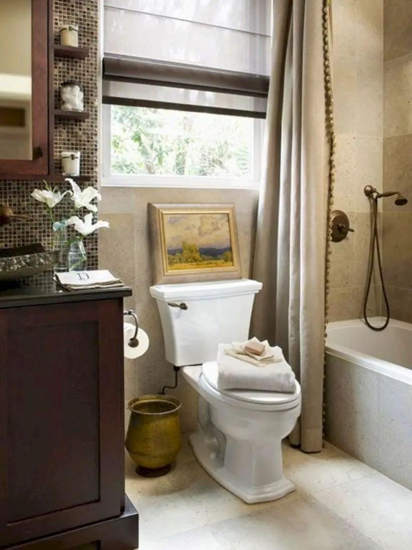 36 Very Small Bathroom Design On a Budget ~ Matchness.com