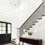Ways to decorate with chandelier over the stairs 16