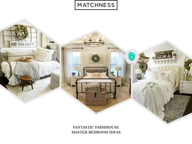 28. farmhouse master bedroom