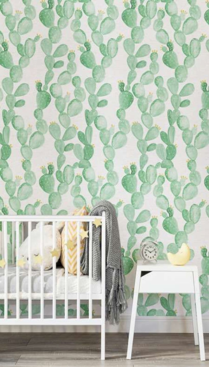 A cactus themed room for kids