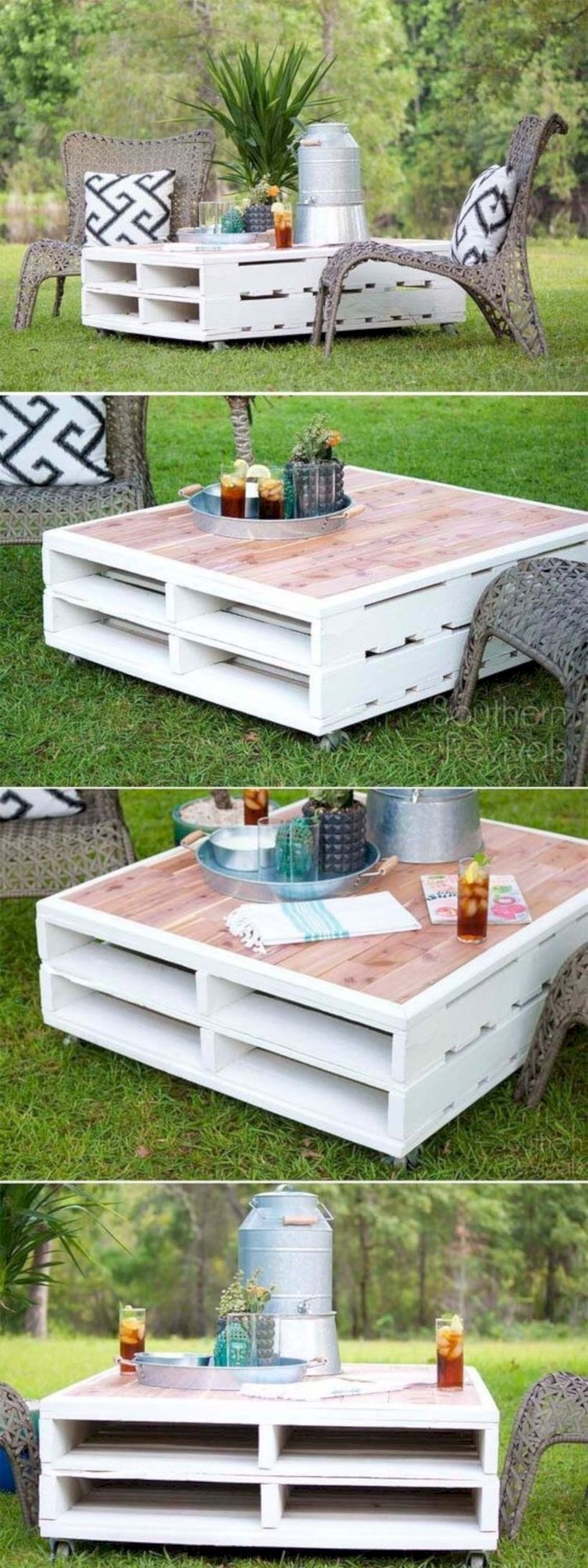 Basement coffee table
