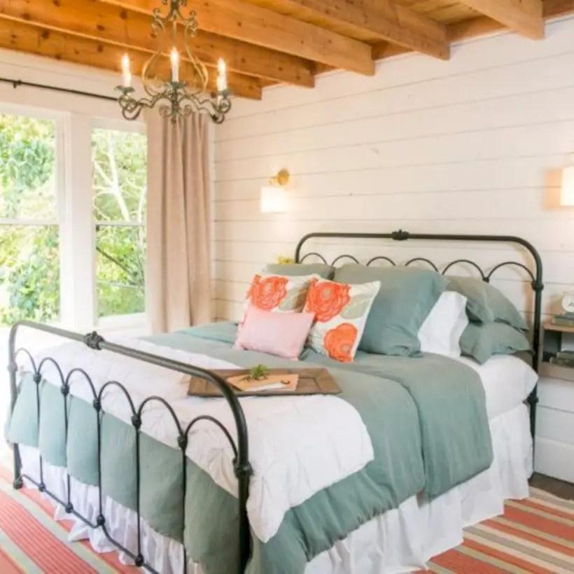 Bedroom with fixer upper