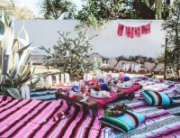 15 Gorgeous Moroccan Bohemian Party Decor Ideas ...