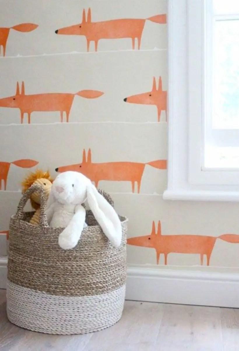 Kids fox wallpaper