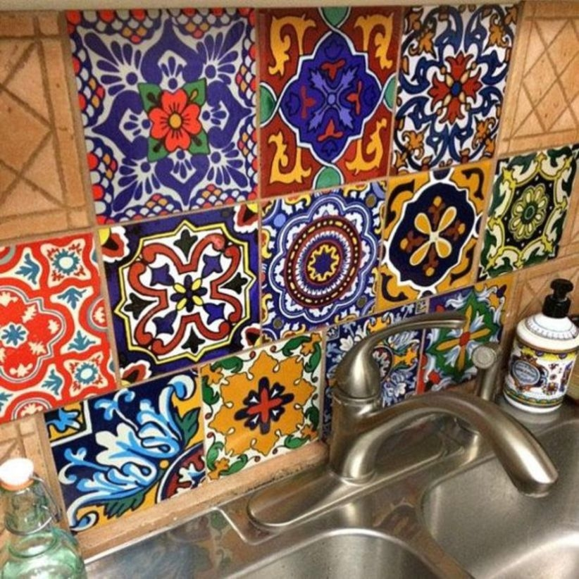 Kitchen and bathroom backsplash tile, wall floor decoration