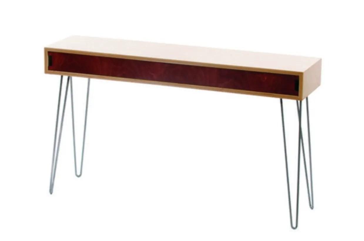 Make sofa table - Make A Diy Mid Century Modern Sofa Table