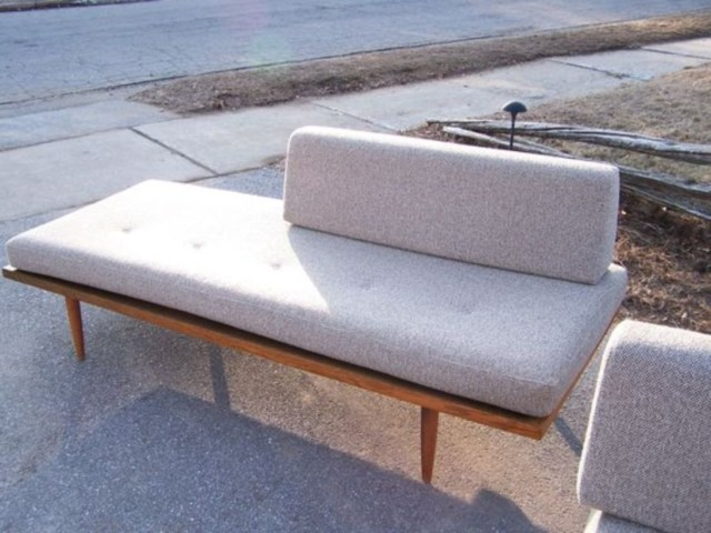 Mid century danish modern daybed for the master bedroom