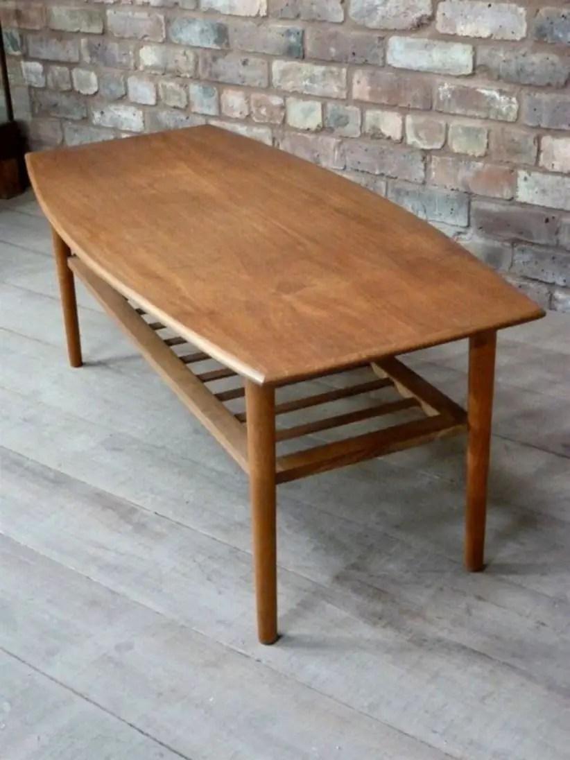Mid century modern danish teak coffee table