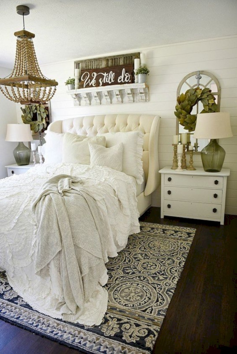 Shabby chicness french master bedroom