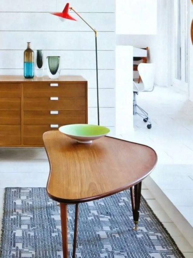 Stylish mid-century modern coffee tables