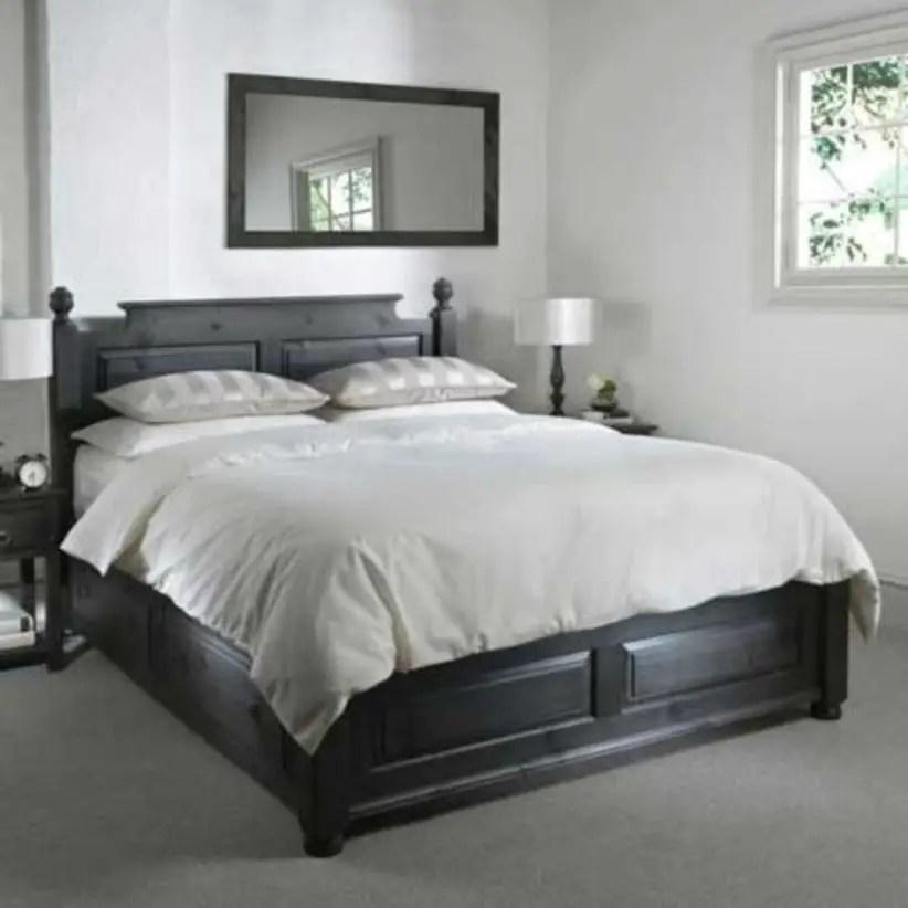 Super king size beds, luxury handmade wood bed frames