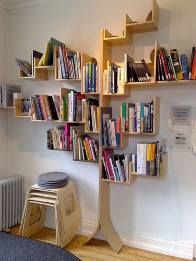 Tree bookshelves