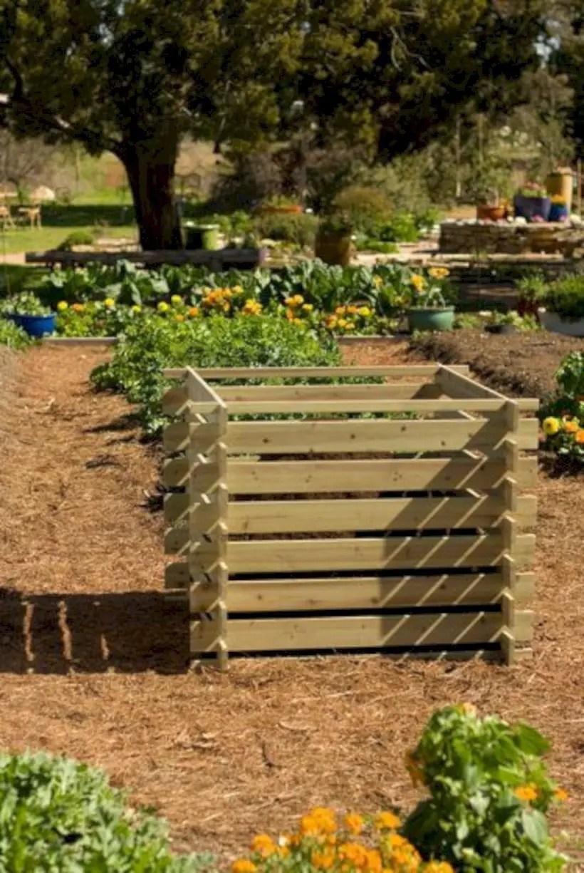 Vegetables natural compost